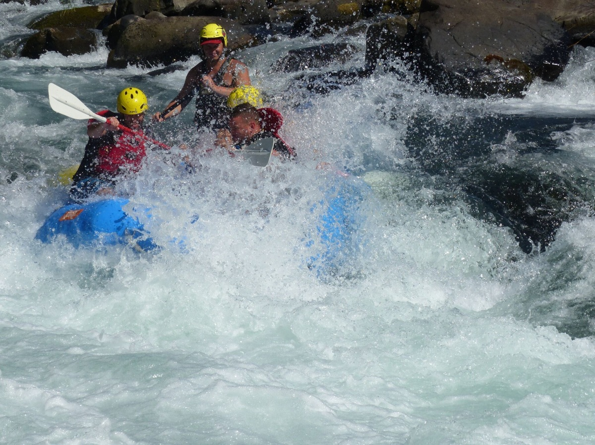 Whitewater Rafting the Clackamas River