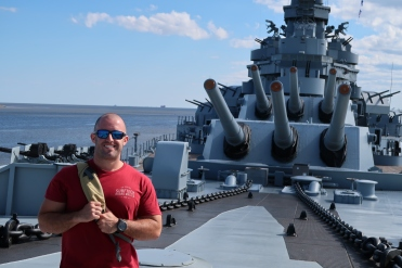 Toured the USS Alabama in Mobile AL