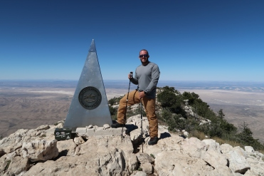 Made Summit on Guadalupe Mountain - National Park