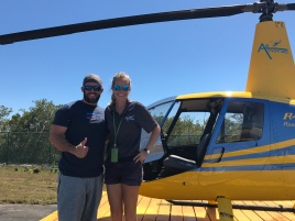 My friend Abi with Air Adventures Key West. Outstanding ride!