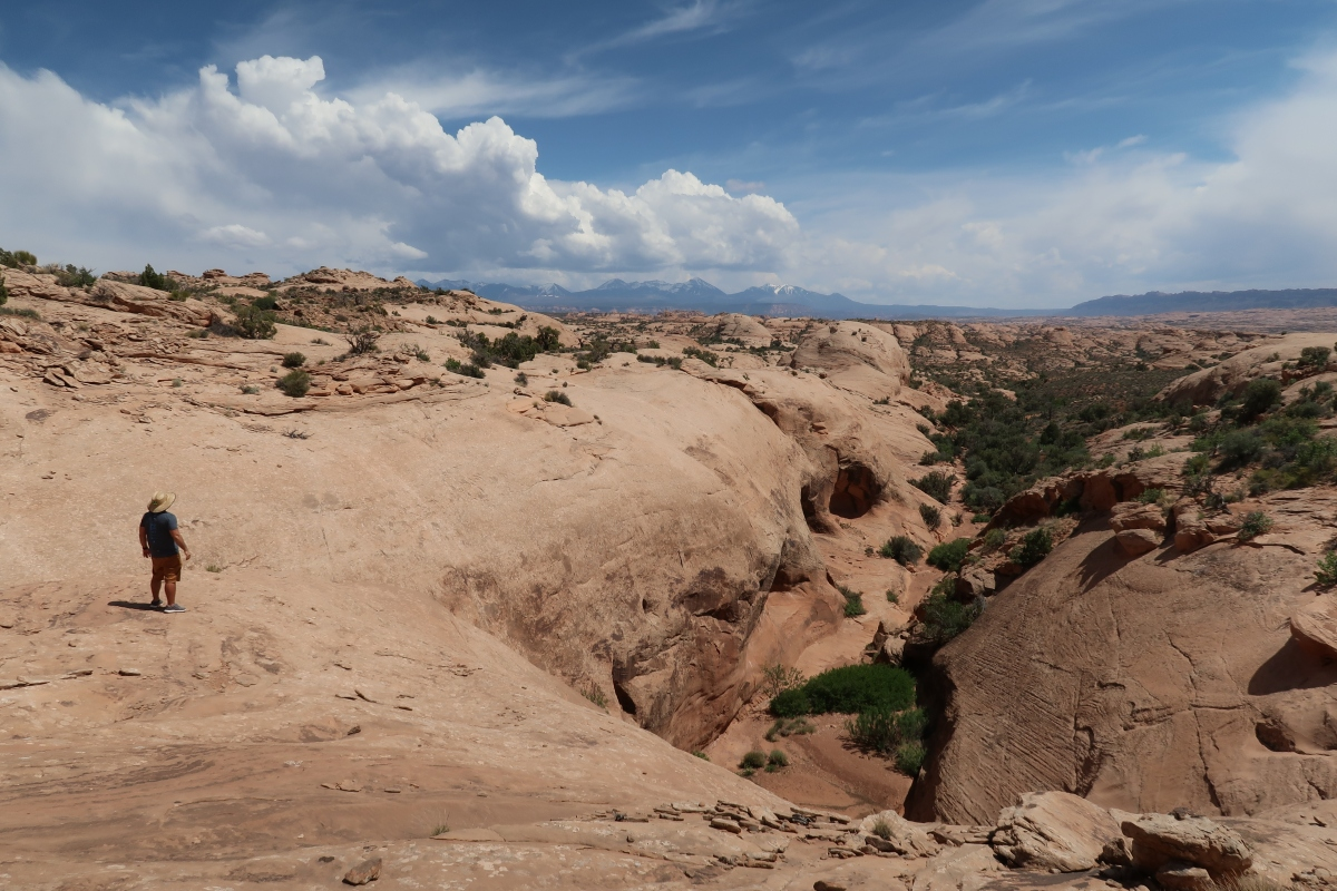 Exploring Off Trail in Arches National Park
