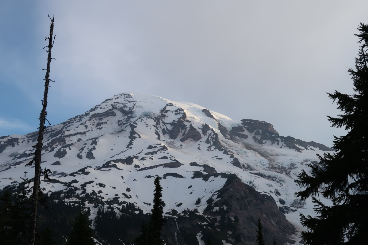 Arriving at Mount Rainier